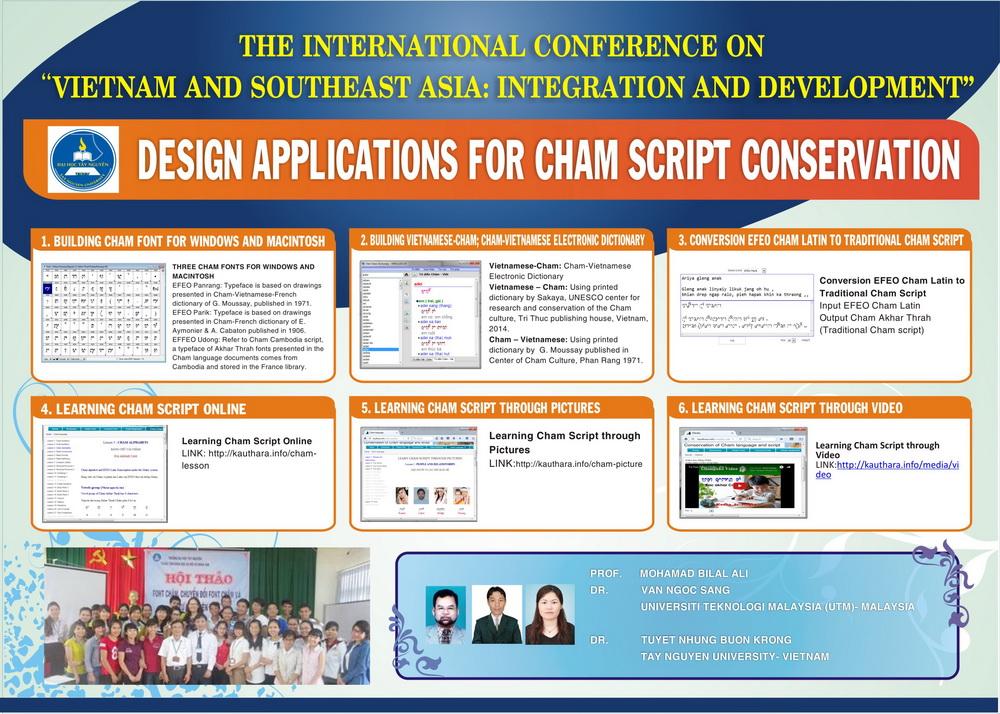 Preserving Cham script through online conversion application